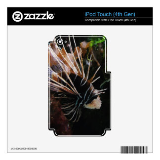 Tropical Fish iPod Touch 4G Decal