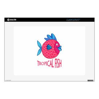 TROPICAL FISH LAPTOP DECAL