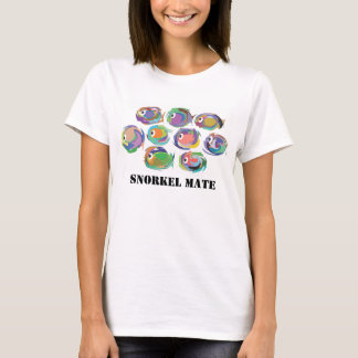 Tropical Fish Snorkel T shirt