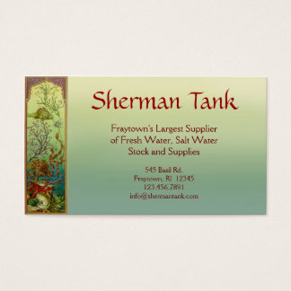 Tropical Fish & Supplies Business Card