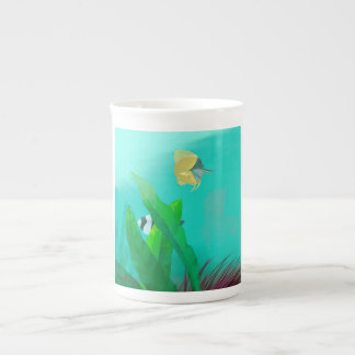 Tropical Fish Tea Cup