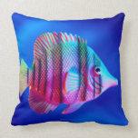 Tropical Fish Throw Pillows