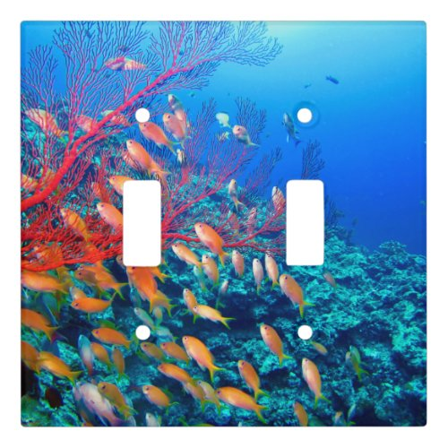 Tropical Fish Undersea Coral Reef Light Switch Cover