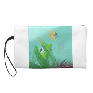Tropical Fish Wristlet