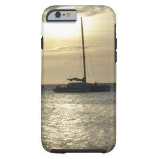 Tropical Fishing Boats Tough iPhone 6 Case