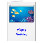 Tropical FishTank Card