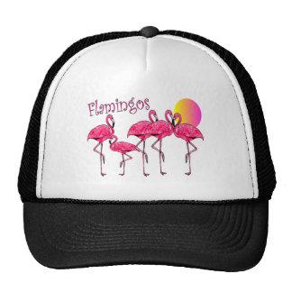 Tropical Flamingo Art Gifts Trucker Hat