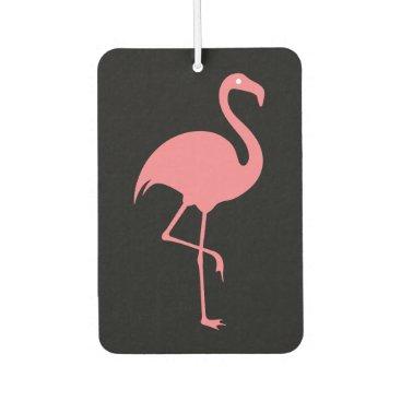 Beach Themed Tropical Flamingo Car Air Fresheners