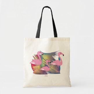 Tropical Flamingo Gifts Budget Tote Bag