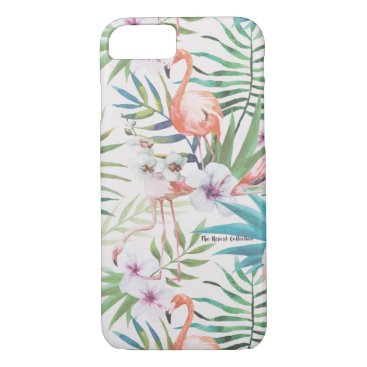 Beach Themed Tropical Flamingo iPhone 7 Case