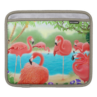 Tropical Flamingo Lagoon Rickshaw Sleeve