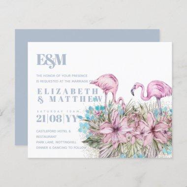 Tropical Flamingos Wedding