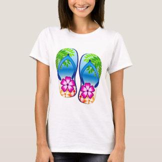 Tropical Flip Flops T-Shirt