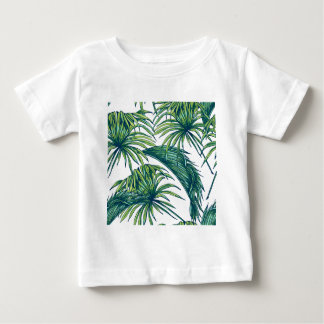 Tropical flora baby T-Shirt