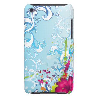 Tropical Floral Fantasy iPod Touch Covers