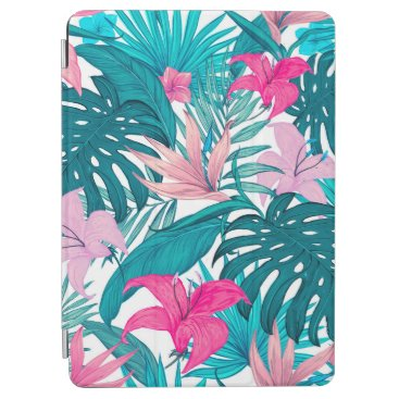 Tropical Floral Leaves Background   iPad Air Case