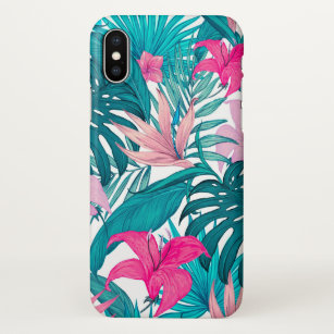 Tropical Leaf Background Iphone Cases Covers Zazzle Find images of tropical background. tropical leaf background iphone cases