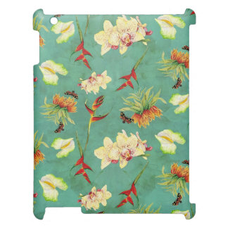 Tropical Floral Orchid Botanical Butterfly Beach Case For The iPad