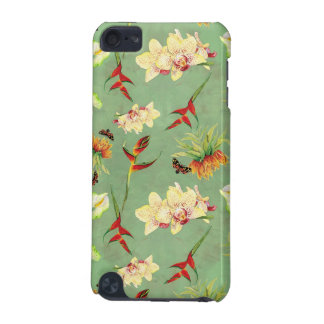 Tropical Floral Orchid Botanical Butterfly Beach iPod Touch 5G Cover