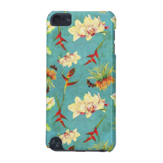 Tropical Floral Orchid Botanical Butterfly Beach iPod Touch 5G Covers