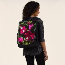 Tropical Floral Print, Retro Mood Backpack