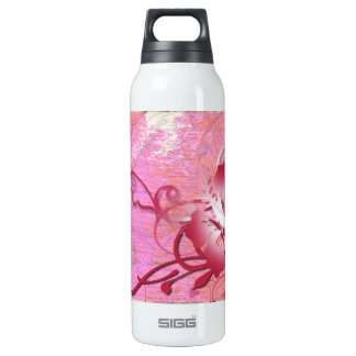 Tropical Flower 16 Oz Insulated SIGG Thermos Water Bottle