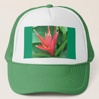 Tropical Flower Bird of Paradise Trucker Hat