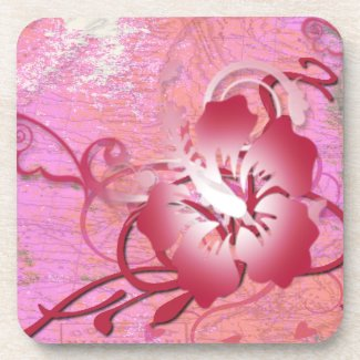 Tropical Flower Coasters