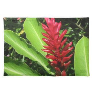 Tropical Flower Place Mat