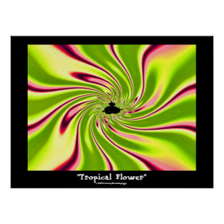 Tropical Flower Posters