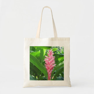 Tropical Flower Tote Canvas Bag