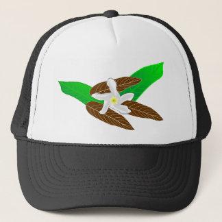 Tropical Flower Trucker Hat