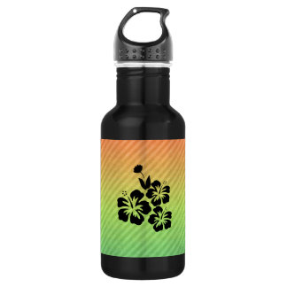 Tropical Flowers 18oz Water Bottle