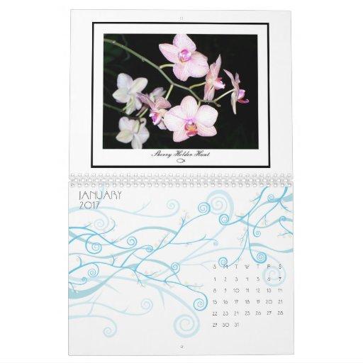Tropical Flowers 2009 Calendar