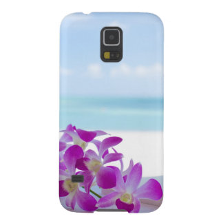 Tropical Flowers by the beach Galaxy S5 Case