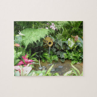 Tropical Flowers Fiesta - Jigsaw Puzzle