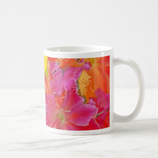 Tropical Flowers Gifts Designed by Sharlesfineart Classic White Coffee Mug