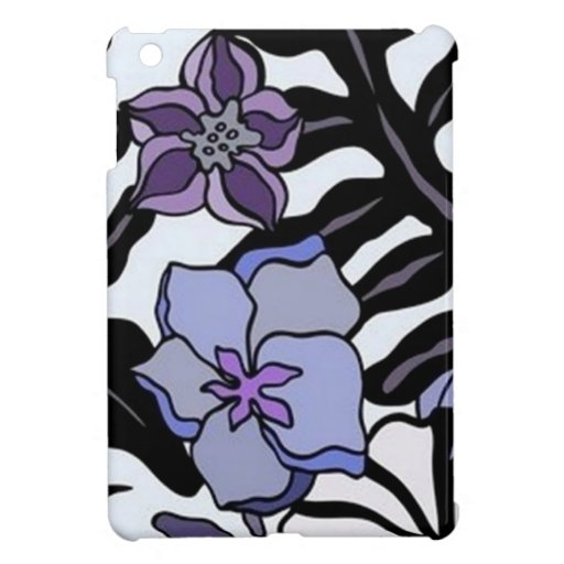 Tropical Flowers - iPad Mini Case