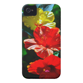 Tropical flowers IPhone Case iPhone 4 Covers
