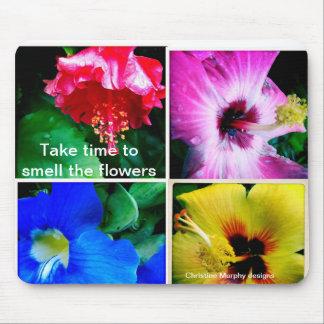 Tropical flowers on Kauai Mouse Pad