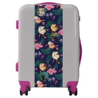 Tropical Flowers   Photo Frames   Vacation Luggage