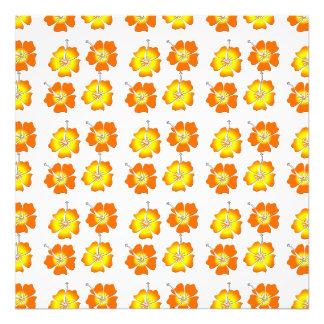 Tropical Flowers Art Photo