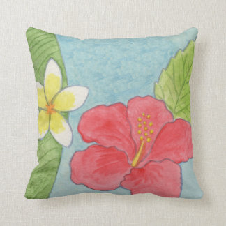 Tropical Flowers pillow