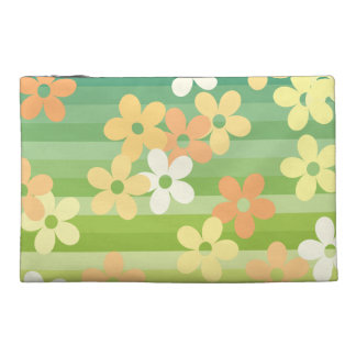 Tropical Flowers Travel Accessories Bags
