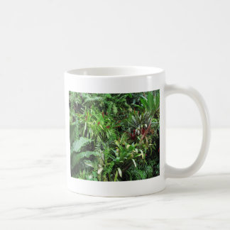 Tropical Forest Flora Background Coffee Mug