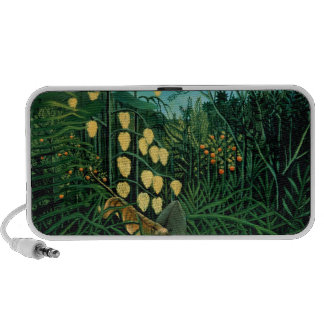 Tropical Forest iPod Speakers