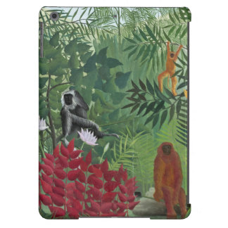 Tropical Forest with Monkeys, 1910 (oil on canvas) Case For iPad Air