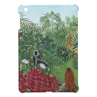 Tropical Forest with Monkeys, 1910 (oil on canvas) Case For The iPad Mini