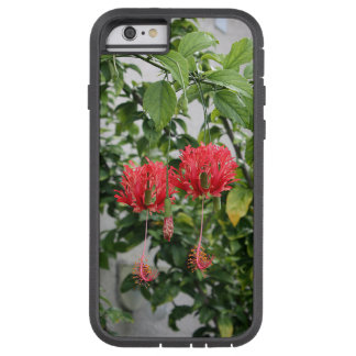 Tropical Fringed Coral Hibiscus Flower Tough Xtreme iPhone 6 Case