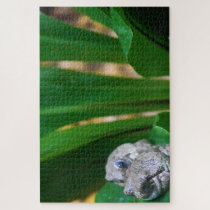Tropical Frogs. Jigsaw Puzzle